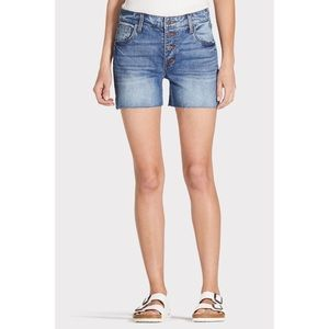 Kut from the Kloth Gidget Button Fly Shorts
